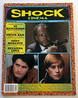 SHOCK CINEMA Magazine Issue 35 Sy Richardson Chuck Bail Tony Musante DVD Reviews