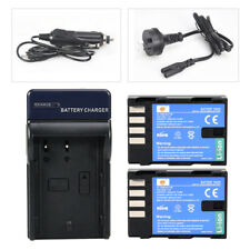 DSTE 2x Np-f550 Battery Charger Adapter for Sony Np-f330 Np-f530 Np-f570