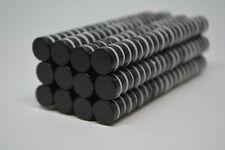25/50/100 DISK CYLINDER MAGNETS 12mm x 4mm EPOXY COATED Neodymium N40