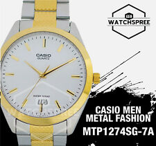Casio Classic Series Men's Analog Watch MTP1274SG-7A