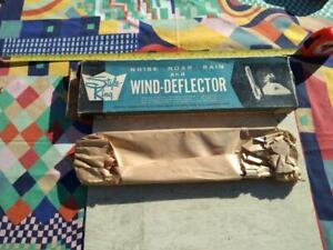 NOS MIB vtg Style King wind deflectors from the 50s; never been out of their box