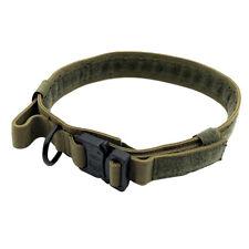 Outdoor Tactical Sports Dog Elastic Leash Strap Adjustable Nylon Dog Collar ON