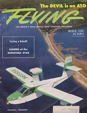Flying Magazine (March 1956) (T-33, Colonial Skimmer, Aero Commander 560)