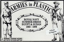 Armies in Plastic Egypt-Sudan British Royal Navy Summer dress 1/32 Scale 54mm