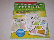 Graphic Organizer Booklets for Reading Response Grades 4-6 Guided Response jk200