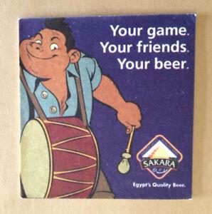 """Beer coaster - Egypt """"Sakara"""" - Africa"""