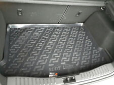 Tailored Fit Black Boot Liner Tray Mat for Ford Focus (2011 on) [Hatchback]