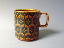 Vintage Hornsea Pottery Brown Heirloom Mug John Clappison Design 1960s Sixties