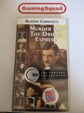 Murder on Orient Express (Alt) VHS Video Retro, Supplied by Gaming Squad