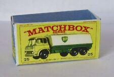 Repro Box Matchbox 1:75 Nr.25 BP Tanker neuer