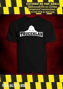 T-Shirt - TRUCEKLAN - NOYZ NARCOS METAL CARTER RAP CORE ITALIANO HIP HOP BHMG