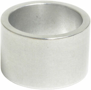 """Wheels Manufacturing 20mm 1"""" Headset Spacer Silver Each"""