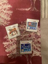 Paquete De Juegos NINTENDO 3DS Cartuchos sólo-Mario 3D Land, Lego City, Pilotwings