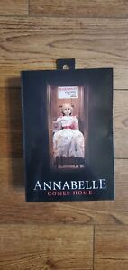"""ANNABELLE Neca THE CONJURING UNIVERSE 2020 7"""" Inch FIGURE ANNABELLE COMES HOME"""