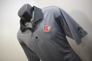 Adidas Golf Polo ClimaLite NFL Arizona Cardinals Athletic Shirt Mens Size Large