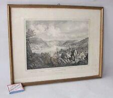 Originaldrucke (1800-1899) mit Landschafts-Motiv