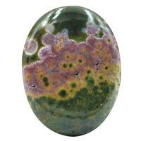 Cts. 25.05 Natural Ocean Jasper Cabochon Oval Cab Loose Gemstones