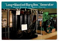 Long Waisted Mary Ann Generator Edison Museum Fort Myers Florida Postcard