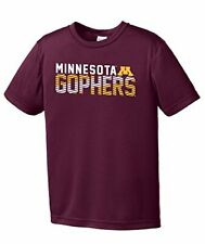 Ncaa Minnesota Golden Gophers Youth Boys Diagonal Short sleeve Polyester Comp.