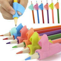 3PCS Set Children Pencil Holder Pen Writing Aid Grip Posture Correction Tool