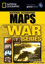 National Geographic Maps The War Series - World War 1 2 - Pc Cd Brand New