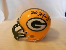 Bob Hyland #50 Green Bay Packers Signed Mini Helmet