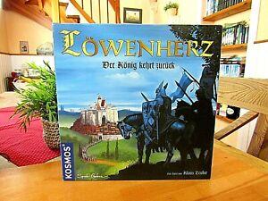 """Löwenherz   """"Der König kehrt zurück""""    Brettspiel von Kosmos, neuwertig"""