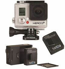 GoPro HERO3+ Silver (Manufactured Refurbished) w/ Rechargeable Battery (New)