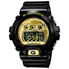 CASIO G-SHOCK X-Large 6900 Series Black Gold Watch GShock GD-X6900FB-1