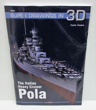 Kagero 16052 - Super Drawings in 3D - The Italian Cruiser Pola        New   Book