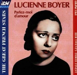 Lucienne Boyer Parlez-Moi D'Amour CD NEW 1997