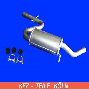 VW  Scirocco  (137, 138)   1.4 TSI   Mittelschalldämpfer mit Montagesatz