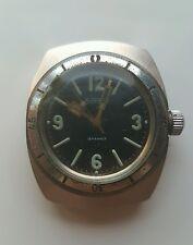 USSR Soviet DIVER's wrist watch AMPHIBIA swing lugs Vostok  waterproof 300m RARE