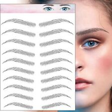 Temporary Eyebrow Tattoos Brown Transfers Stickers For Different Eyebrow Shapes