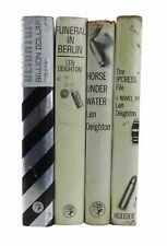 Len Deighton – The Harry Palmer Novels - First Edition Book Collection - 1962-66