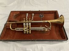 1930's The Olds Trumpet Los Angeles Ca w/ Original Case, two Mouthpieces