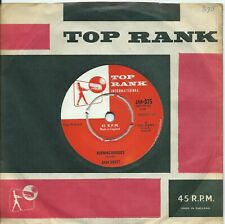 Jack Scott:Burning bridges/Oh, little one:Top Rank:1960