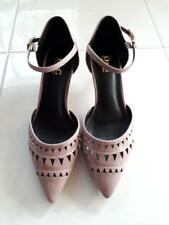 GORGEOUS LADIES BLUSH PINK POINTY TOE HEELS SIZE 6 *BNWOT*