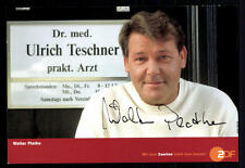 Walter Plathe ZDF Autogrammkarte Original Signiert ## BC 21404