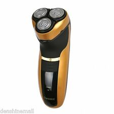 3D Mens Electric Shaver Razor Rechargeable Washable Cordless High Quality