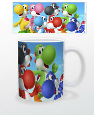SUPER MARIO YOSHI 11 OZ MUG NINTENDO VIDEO GAMES CLASSIC LUIGI BOWSER PRINCESS!!