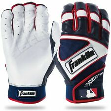 Franklin MLB Powerstrap Youth Batting Gloves  Size M