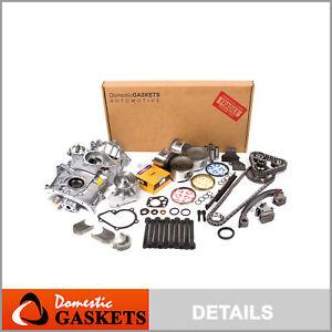 Fits 95-98 Nissan 240SX 2.4L DOHC Master Overhaul Engine Rebuild Kit KA24DE