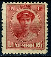 Luxembourg official stamp:1926 Grand Duchess Charlotte, 15C SC#138 MH with OG 03