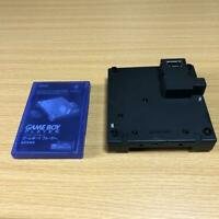 Nintendo GameBoy Player & Game Boy Startup Disk Black For Gamecube console Used