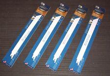 "4 ea. Century Tools 07918 9"" 18-Tpi Wood & Metal Cutting Reciprocating Blades"