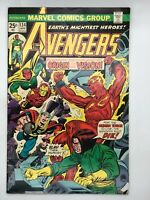 AVENGERS #134 MARVEL 1975 Bronze Age COMIC BOOK THE TIMES THAT BIND!