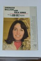 Vintage American Ballads and Folk Songs from the Joan Baez Songbook Sheet Music