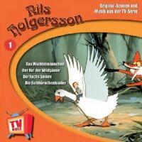 NILS HOLGERSSON - NILS HOLGERSSON,FOLGE 1  CD  9 TRACKS KINDERHÖRSPIEL  NEU