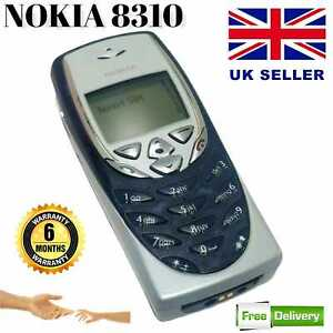 Nokia 8310 New Condition - Black (Unlocked) Mobile Phone with seller warranty